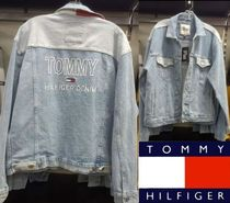Tommy Hilfiger Denim Street Style Plain Jackets