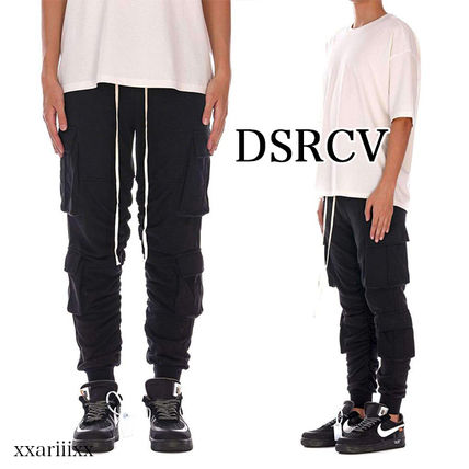 Street Style Plain Cotton Pants