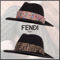 FENDI Felt Hats Keychains & Bag Charms