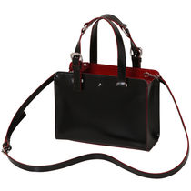 Vivienne Westwood Casual Style 2WAY Plain Leather Totes
