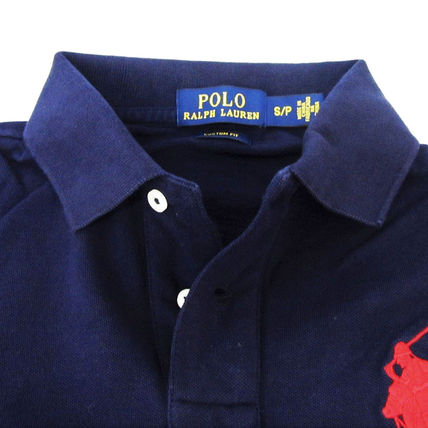 Ralph Lauren Polos Pullovers Plain Cotton Short Sleeves Polos 3
