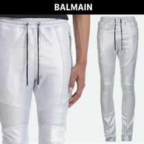 BALMAIN Plain Cotton Pants