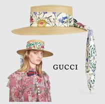 GUCCI Straw Hats