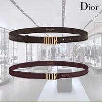 Christian Dior DFENCE Leather Belts