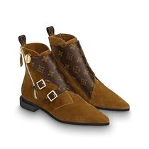 Louis Vuitton MONOGRAM Monogram Ankle & Booties Boots