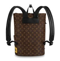 Louis Vuitton 2019-20AW MONOGRAM BACKPACK marron blanc one size bag