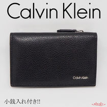 Calvin Klein Faux Fur Plain Coin Cases
