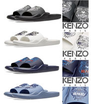 KENZO Unisex Street Style Shower Shoes Shower Sandals