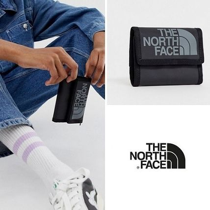 Unisex Nylon Street Style Plain Folding Wallets