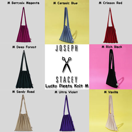 Casual Style Street Style A4 Totes
