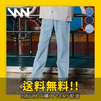 WV PROJECT Unisex Jeans & Denim