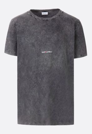 Saint Laurent Crew Neck Crew Neck Plain Crew Neck T-Shirts 6