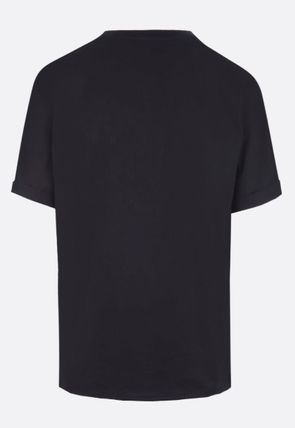 Saint Laurent Crew Neck Crew Neck Plain Crew Neck T-Shirts 13