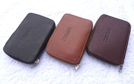Unisex Leather Long Wallet  Coin Cases