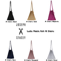 JOSEPH&STACEY Casual Style Street Style A4 Totes