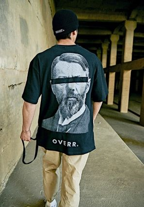 OVERR More T-Shirts Unisex Street Style Cotton Short Sleeves Oversized T-Shirts 8