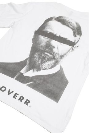 OVERR More T-Shirts Unisex Street Style Cotton Short Sleeves Oversized T-Shirts 15
