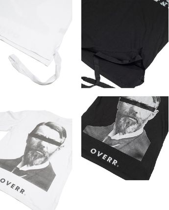 OVERR More T-Shirts Unisex Street Style Cotton Short Sleeves Oversized T-Shirts 17