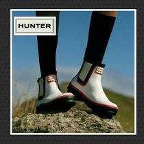 HUNTER Rubber Sole Flat Boots