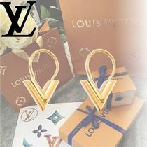 Louis Vuitton Elegant Style Earrings & Piercings