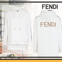 FENDI Blended Fabrics Long Sleeves Cotton Medium