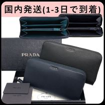 PRADA Saffiano Long Wallets