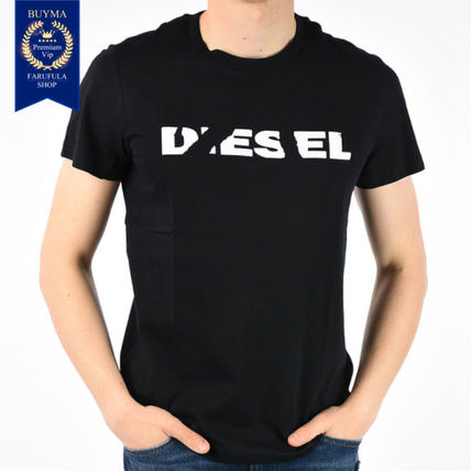 DIESEL More T-Shirts Cotton Short Sleeves T-Shirts