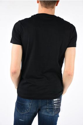 DIESEL More T-Shirts Cotton Short Sleeves T-Shirts 2