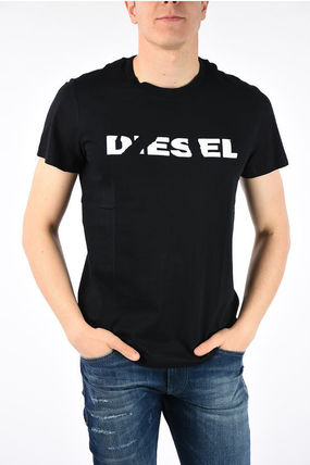 DIESEL More T-Shirts Cotton Short Sleeves T-Shirts 5