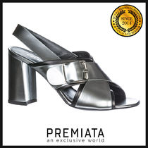 PREMIATA Plain Leather Sandals Sandal