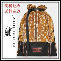 Burberry Nylon Bag in Bag Other Animal Patterns Backpacks
