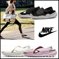 Nike Casual Style Plain Sport Sandals Flat Sandals