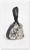3.1 Phillip Lim Blended Fabrics Plain Leather Elegant Style Handbags