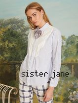 Sister Jane Other Check Patterns Long Sleeves Shirts & Blouses
