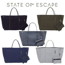 State of Escape Unisex Khaki Mothers Bags