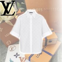 Louis Vuitton Casual Style Medium Short Sleeves Shirts & Blouses