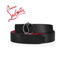 Christian Louboutin Plain Leather Belts