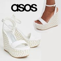 ASOS Open Toe Casual Style Platform & Wedge Sandals