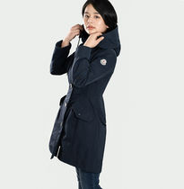 MONCLER Casual Style Plain Medium Trench Coats
