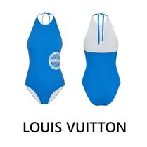 Louis Vuitton 2019-20AW HALTER SWIMWEAR blue 34-38 swimwear