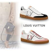 Louis Vuitton 2019-20AW LV LOGO SNEAKERS noir rose shoes