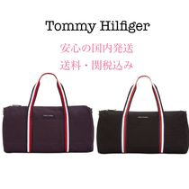 Tommy Hilfiger Unisex Canvas A4 2WAY Plain Boston & Duffles