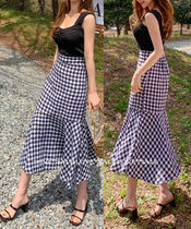 Flared Skirts Casual Style Cotton Long Maxi Skirts