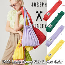 JOSEPH&STACEY Casual Style Street Style A4 Plain Totes