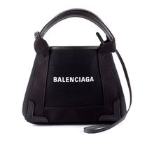 BALENCIAGA CABAS Casual Style Canvas 2WAY Plain Handbags