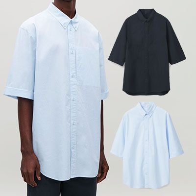 Plain Short Sleeves Shirts