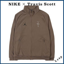 Nike AIR JORDAN Street Style Collaboration Plain Track Jackets