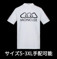 MONCLER Crew Neck Cotton Short Sleeves Crew Neck T-Shirts