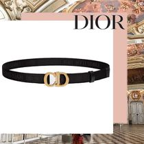 Christian Dior LADY DIOR Casual Style Plain Belts
