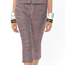 CHANEL Tweed Blended Fabrics Plain Medium Cropped & Capris Pants